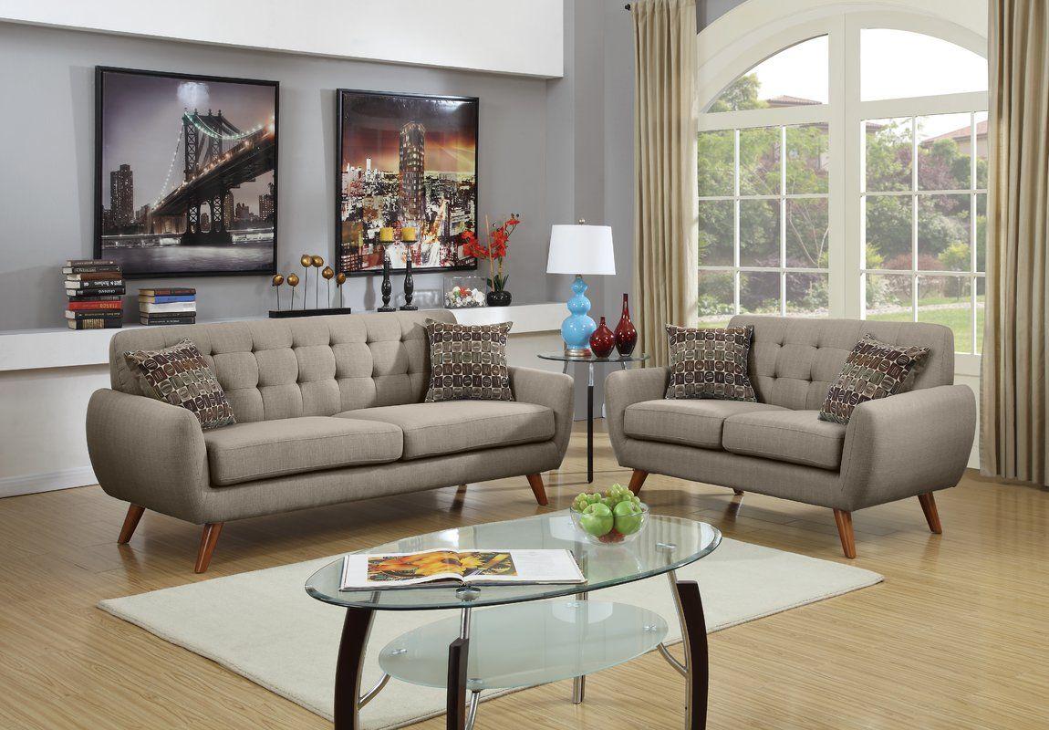 Wooten 2 Piece Living Room Set Living Room Sets Furniture