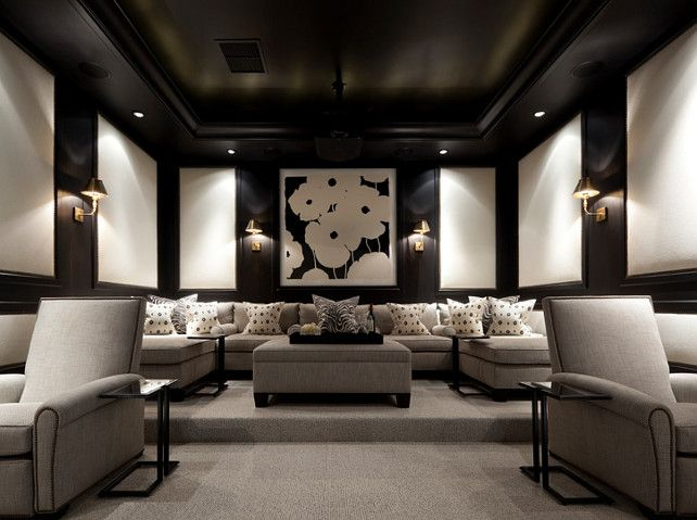 Media Room Furniture Ideas Part - 37: A Media Room, Or Home Theater As It Is Sometimes Referred To, Is A
