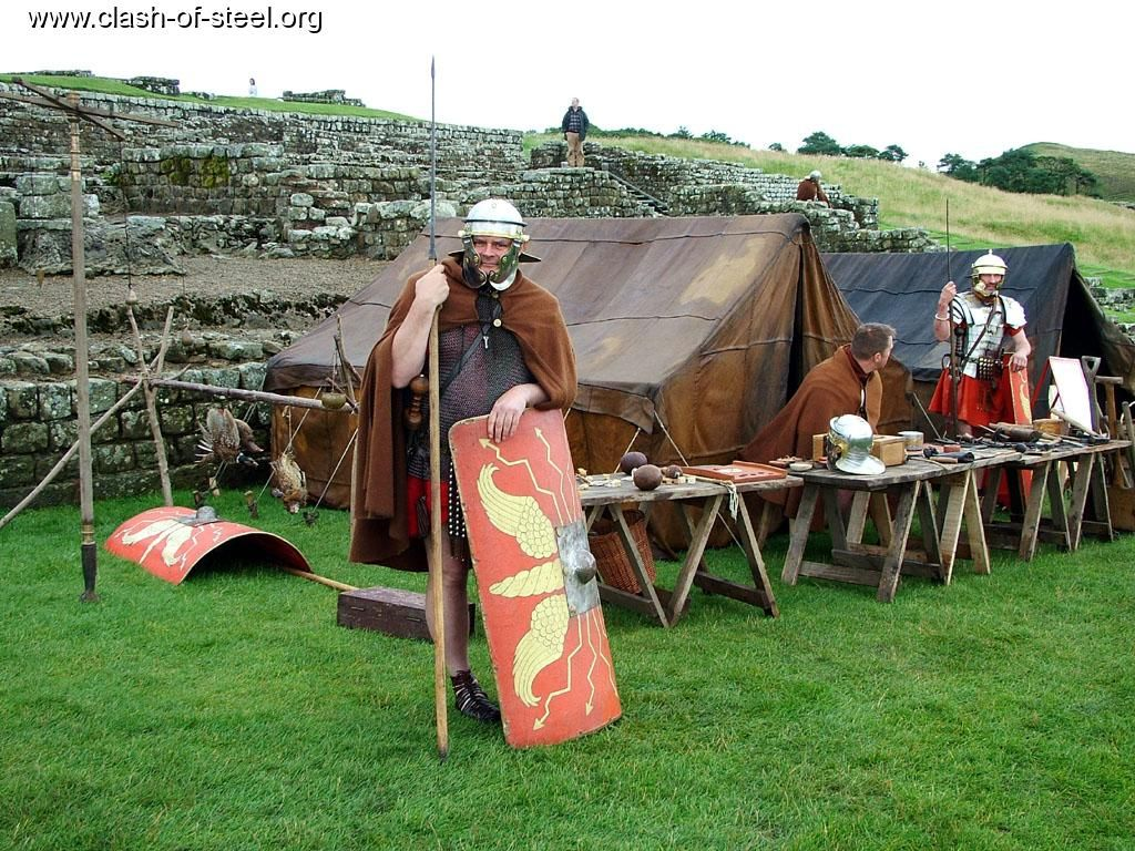 Roman marching c& - Contubernia tents & Roman marching camp - Contubernia tents | Ancient/Late Roman Gear ...