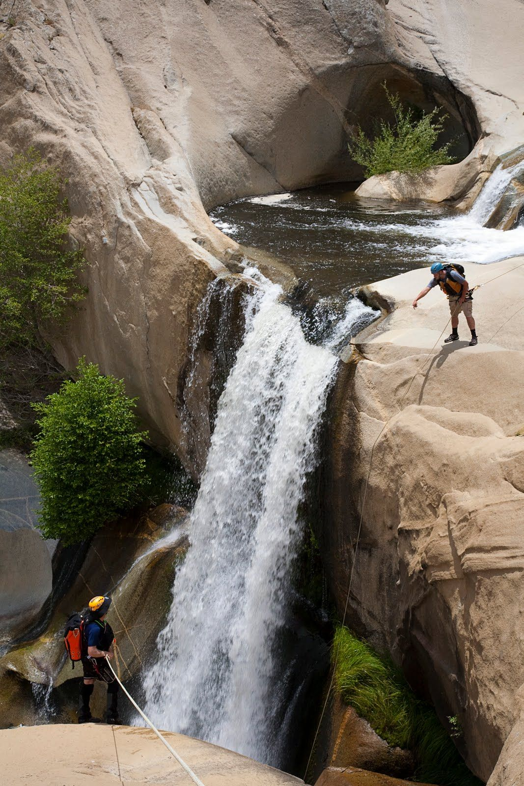 7 Teacups in the Kern River - Kern Canyon, southern