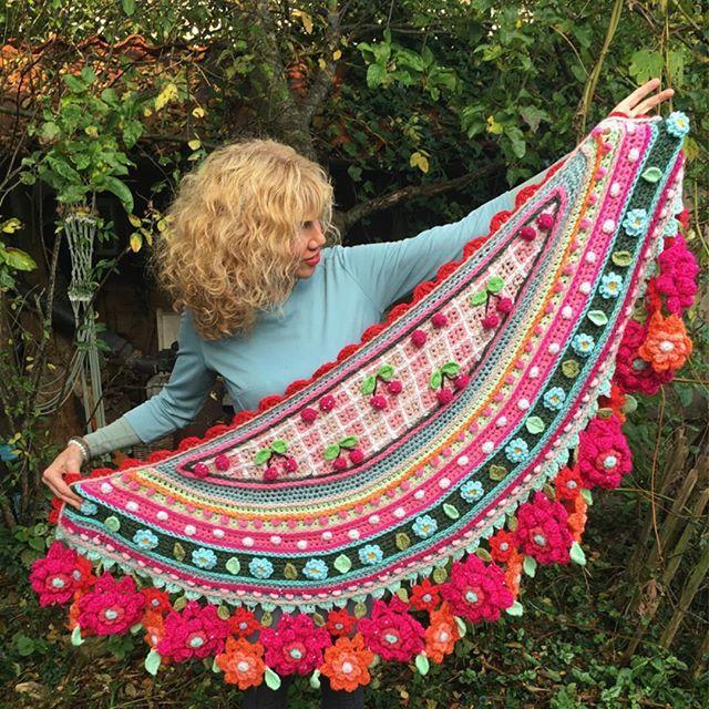 Pin de Carolina en crochet y joyerias | Pinterest | Chal, Tejido y ...