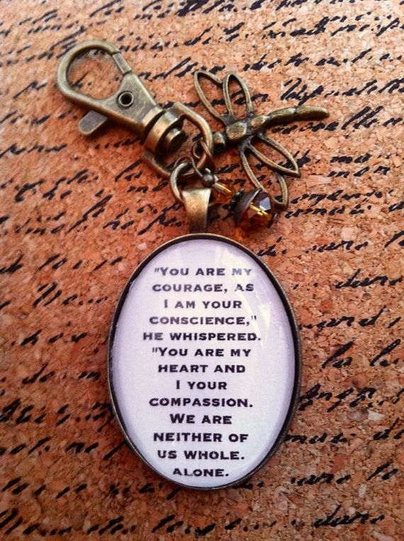Outlander Quote Keychain