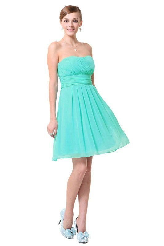 Tiffany Blue Party Dresses for Juniors