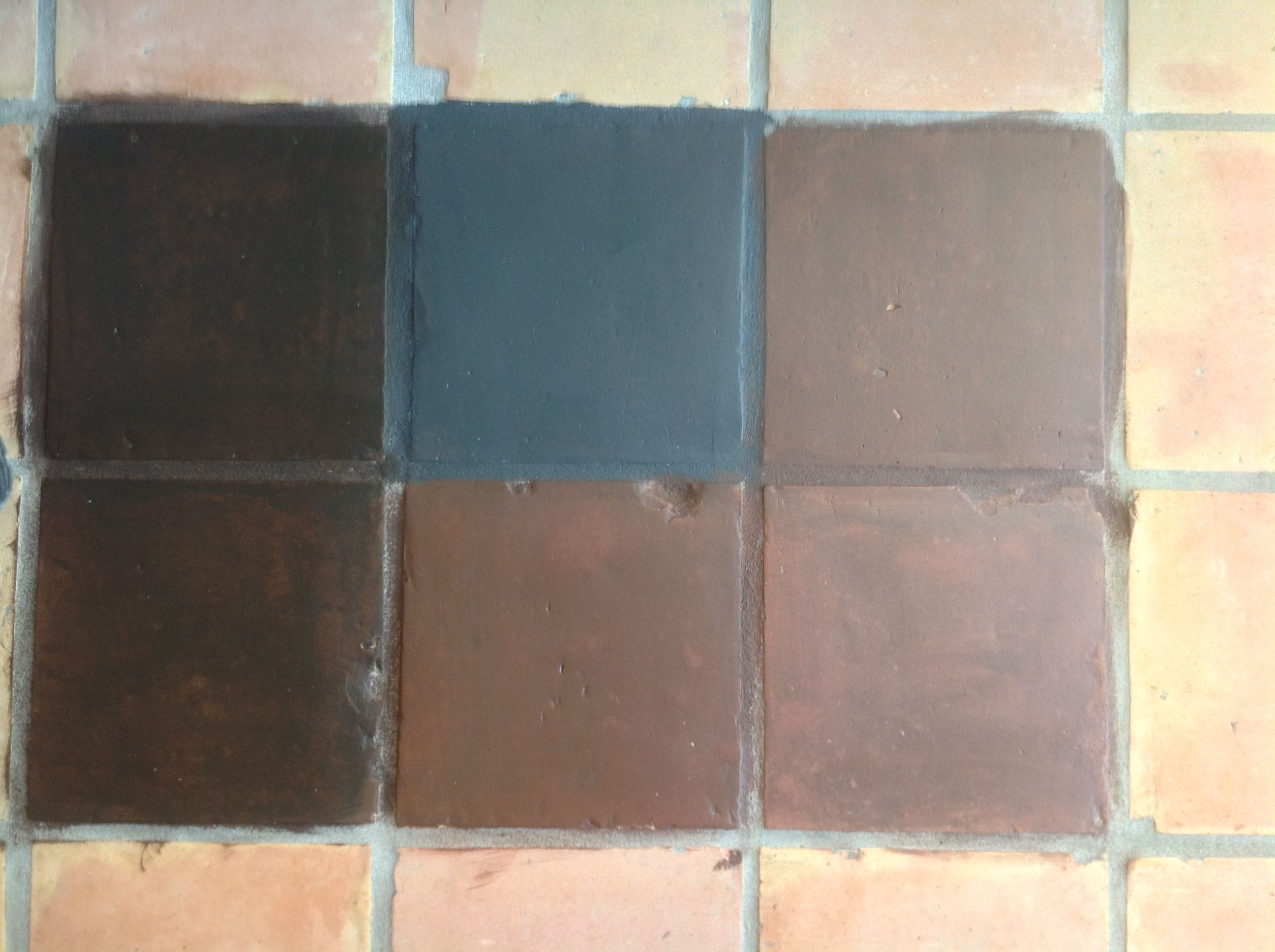Can i paint terracotta floor tiles image collections home painting terracotta floor tiles images tile flooring design ideas saltillo tile dark stain for the home dailygadgetfo Image collections