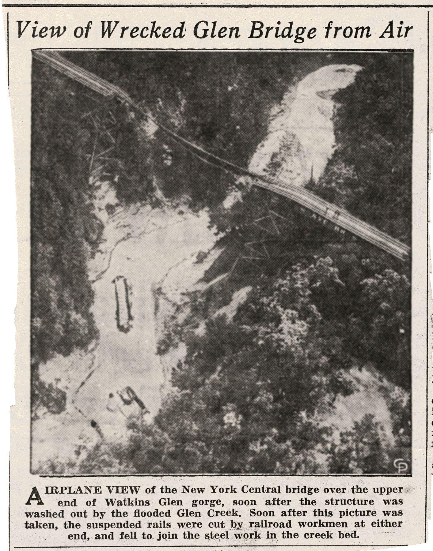 1935 Flooding At Watkins Glen Scan 44606