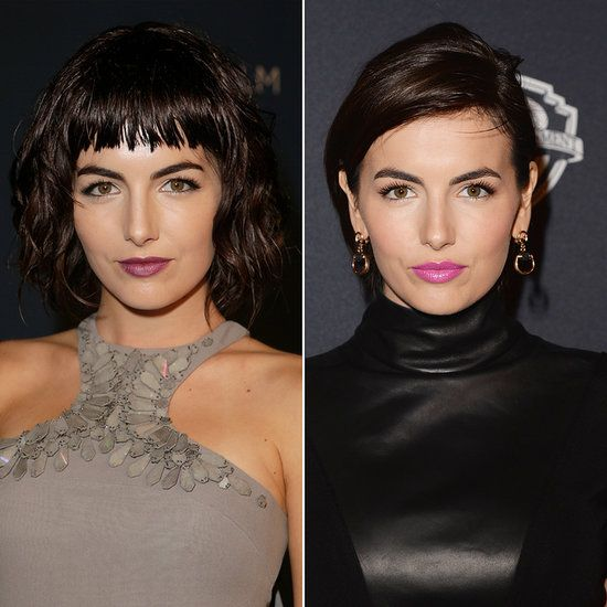 Camilla Belle Will Take Away Your Fear Of Bangs Hair Pinterest