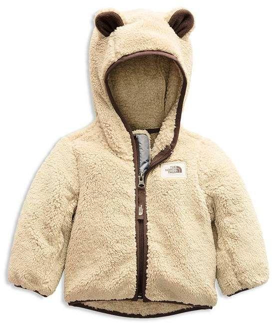 Baby Boy Hooded Sherpa Jacket Warm Coat Little Girl Fleece Jacket Winter Children Thicken Outerwear