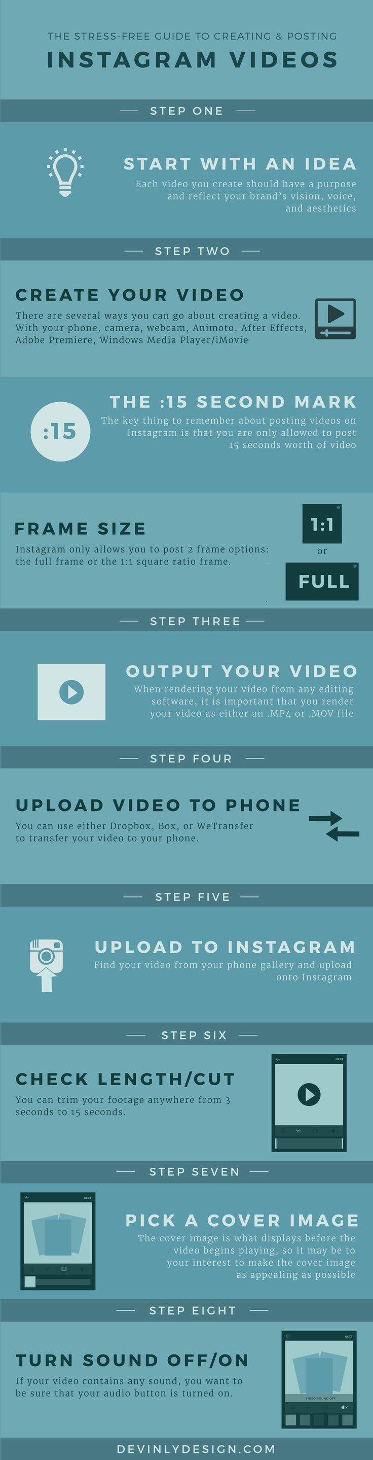 The Stress-Free Guide to Creating & Posting Instagram Videos ...