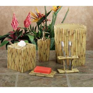 Tahiti Bath Accessories