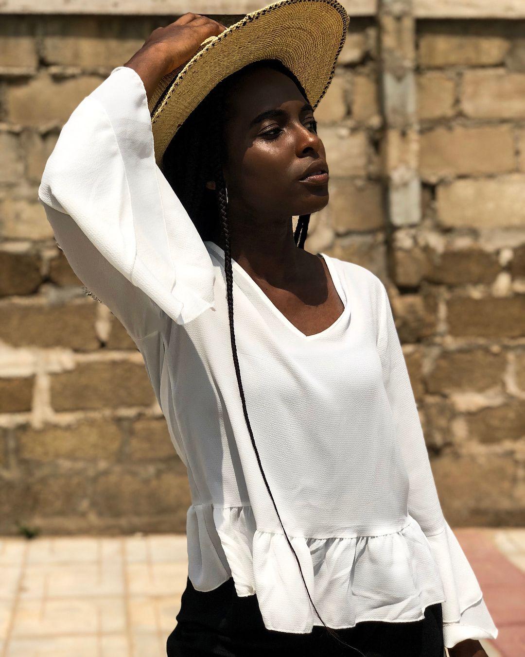 ce1671b1 L GILLIAN OKYERE (@thepurpleclassics) on Instagram: straw hat. Dark skin. Black  Women. Sun-kissed. Beauty.