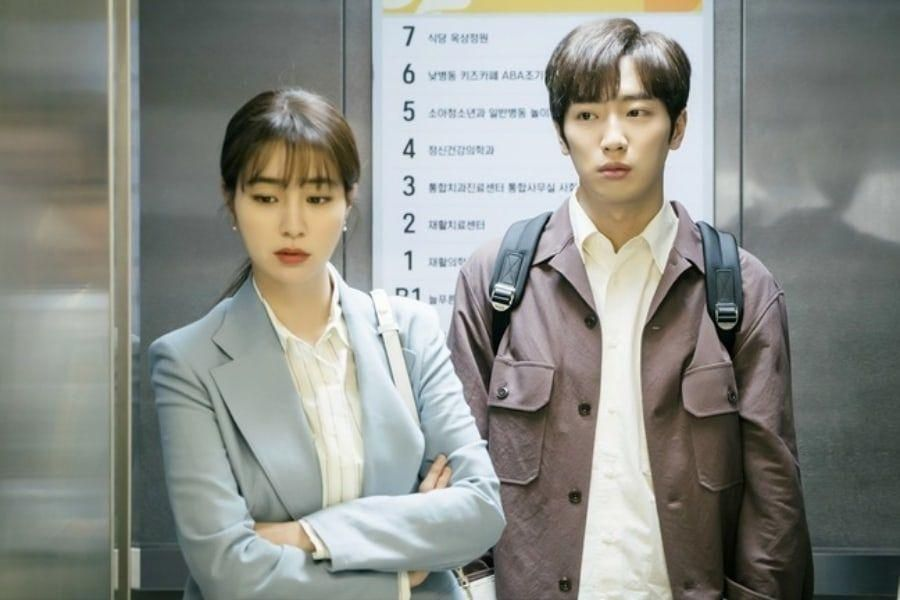 "Lee Min Jung + Lee Sang Yeob Share Awkward Encounter At Hospital Amidst News Of Their Divorce In ""Once Again"""