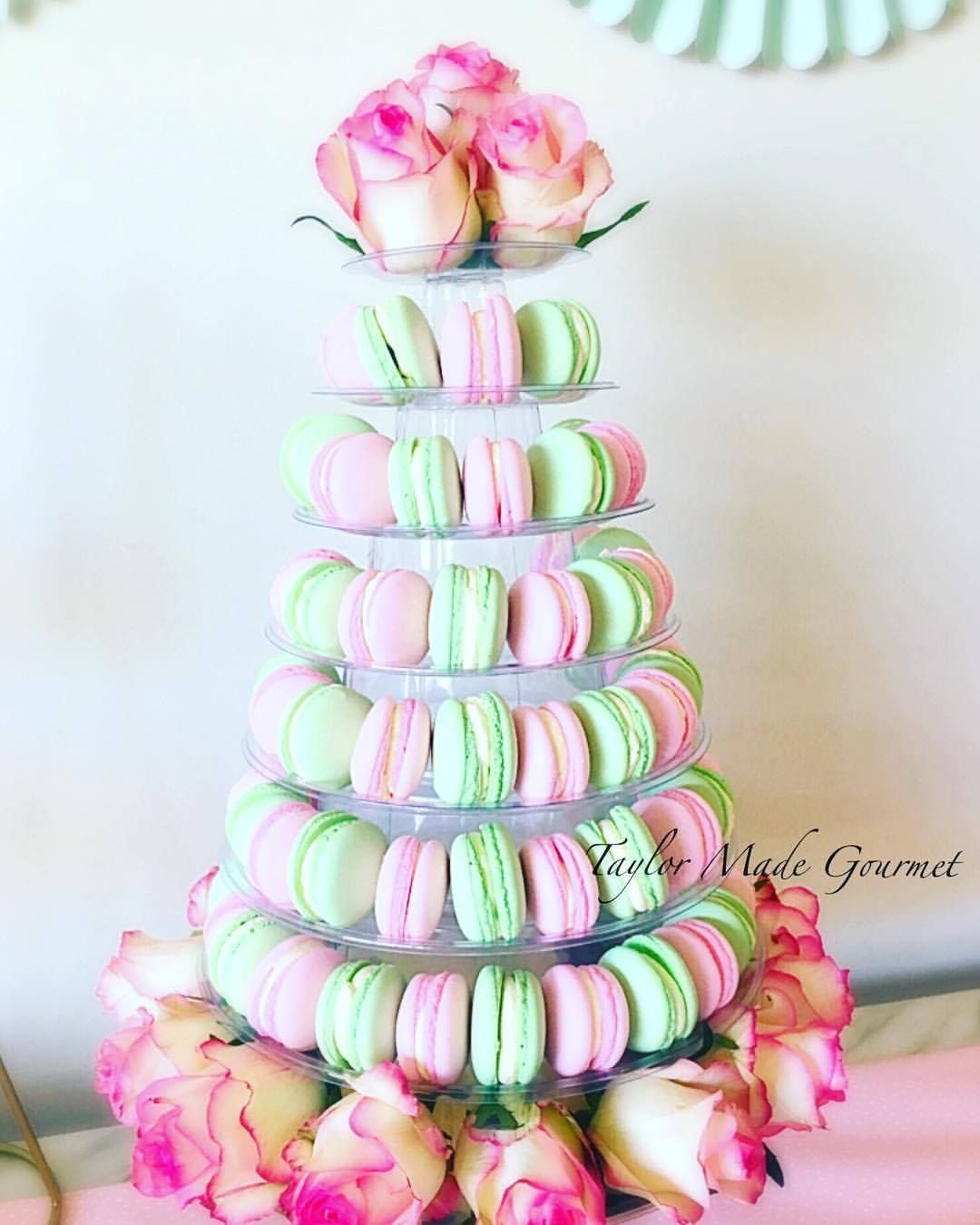 Download Macaron Tower For Baby Shower
