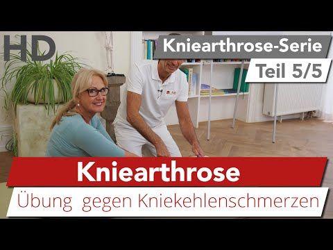 Kniearthrose // Schmerzen in der Kniekehle, Knieübungen..