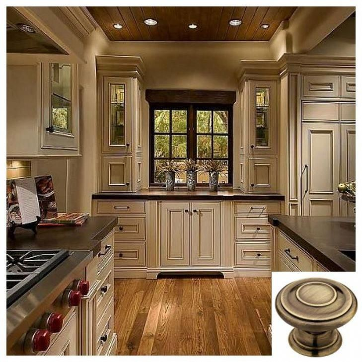 Dark, light, oak, maple, cherry cabinetry and distressed ...