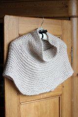 Churchmouse Yarns & Teas - Winter 2013 Shoulder Cozy in Rowan Cocoon