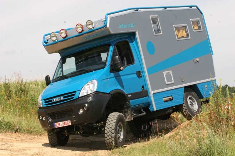 bimobil iveco daily custom campers etc wohnmobil. Black Bedroom Furniture Sets. Home Design Ideas