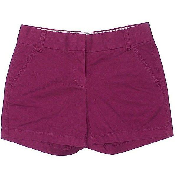 J. Crew Khaki Shorts ($26) ❤ liked on Polyvore featuring shorts ...