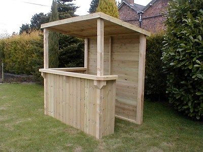 Tanalised Garden Bar Gazebo Fully T Amp G Cladding Outdoor Bar