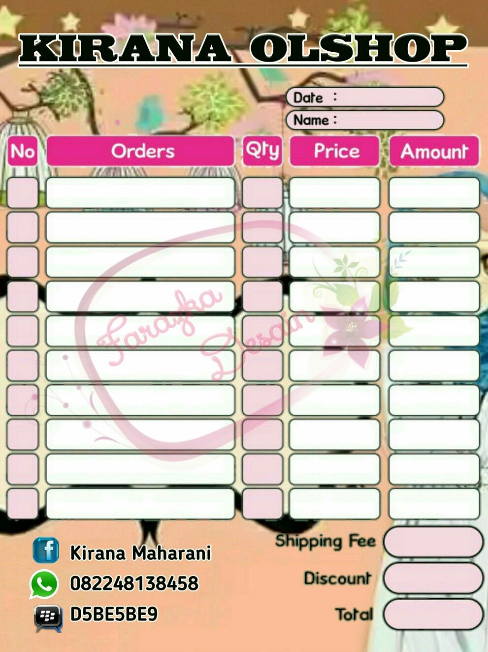 List Harga Logo Olshop 5 Rb1desain Label