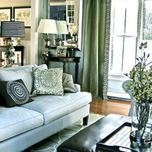 Blue Family Room Design Ideas, Pictures, Remodel, and Decor - page 6