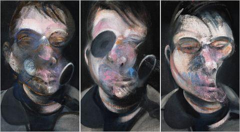 Francis Bacon, self portraits
