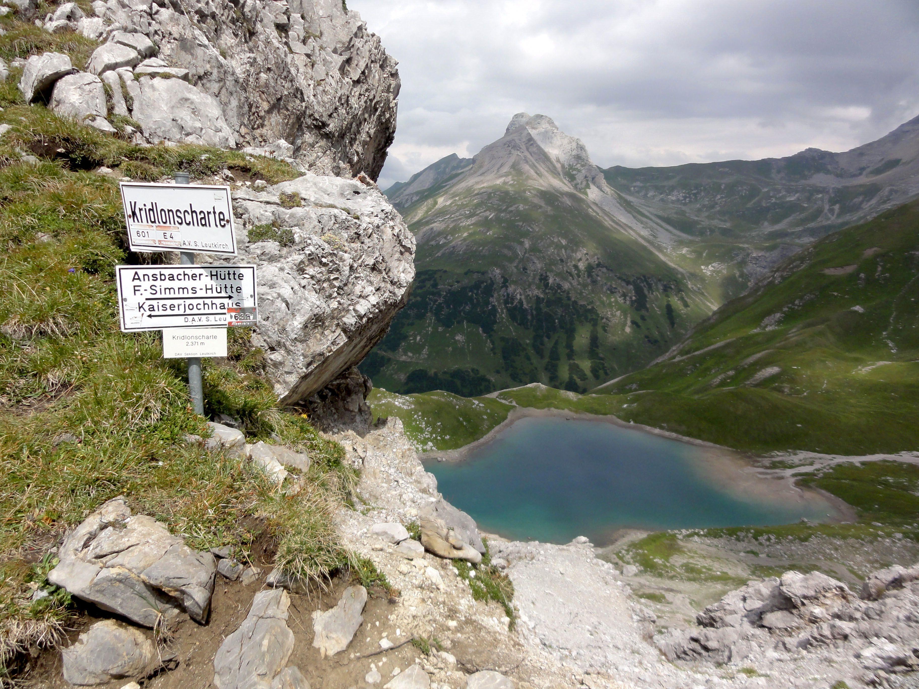 Kaisers  Fernwanderweg Alpin 4  Gridlonscharte & Hintersee