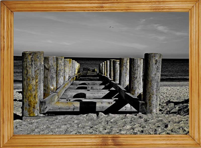Obraz Z Rama 25x35cm Krajobraz Morze Molo 5304724139 Oficjalne Archiwum Allegro Buddhism Books Buddhism Vacation Trips