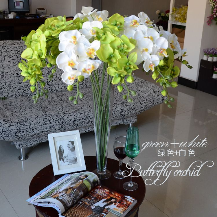 Decoracion con orquideas artificiales buscar con google - Decoracion plantas artificiales ...