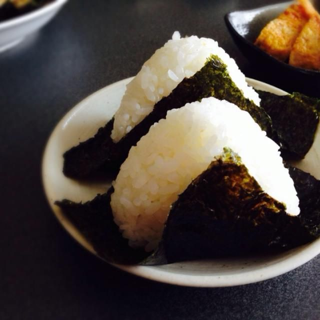 レシピとお料理がひらめくSnapDish - 68件のもぐもぐ - あさのおにぎり by chaton