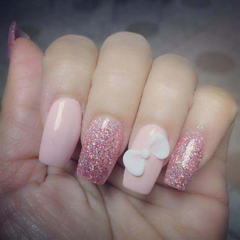 collection of spring nail design