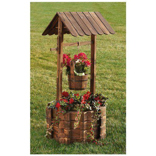 Um 'Poço dos Desejos' para o jardim ...