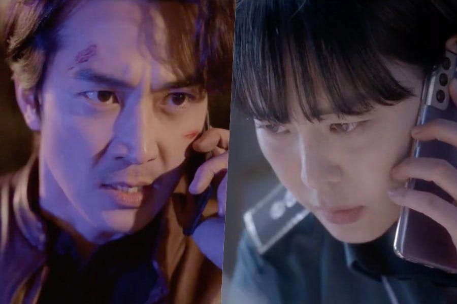 """Watch: Song Seung Heon And Lee Ha Na Join Forces To Catch A Killer In Chilling New Teaser For """"Voice 4"""""""