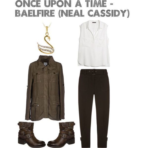 """Disneybounding Once Upon a Time - Baelfire (Neal Cassidy)"" by nuhaa on Polyvore"