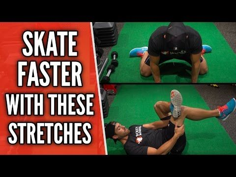 Skate Faster With These Stretches ��