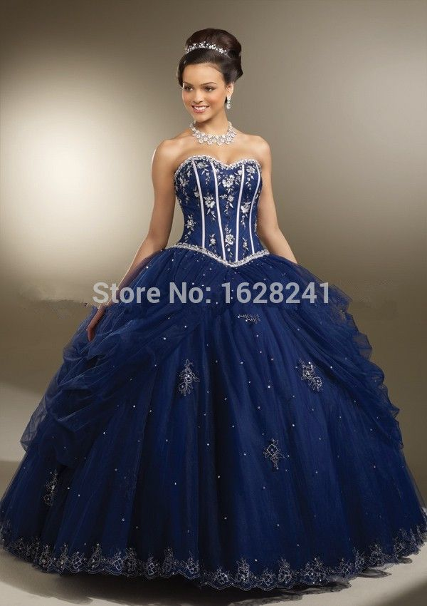 251d18c8651 Find More Quinceanera Dresses Information about Luxurious Quinceanera  Dresses 2015 Sweetheart Layered Tulle with Embroidered and Beaded Royal Blue  2015 ...