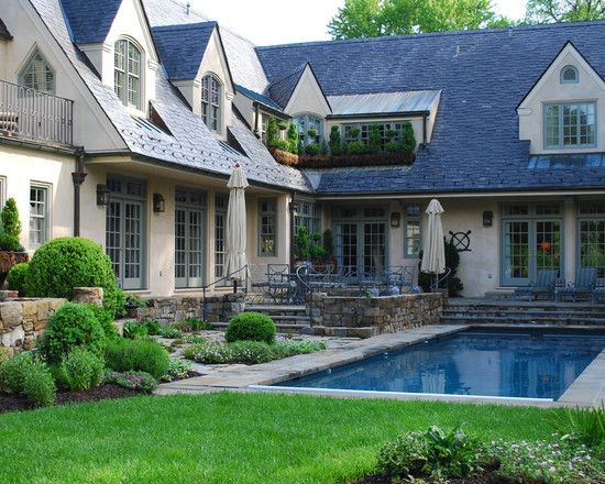 French Country Cottage House Exterior Design Exterior