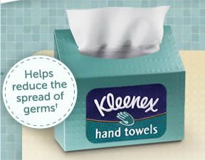photo about Kleenex Printable Coupon called Totally free Kleenex Manufacturer Supporter Pattern Package Freebies Hand towels