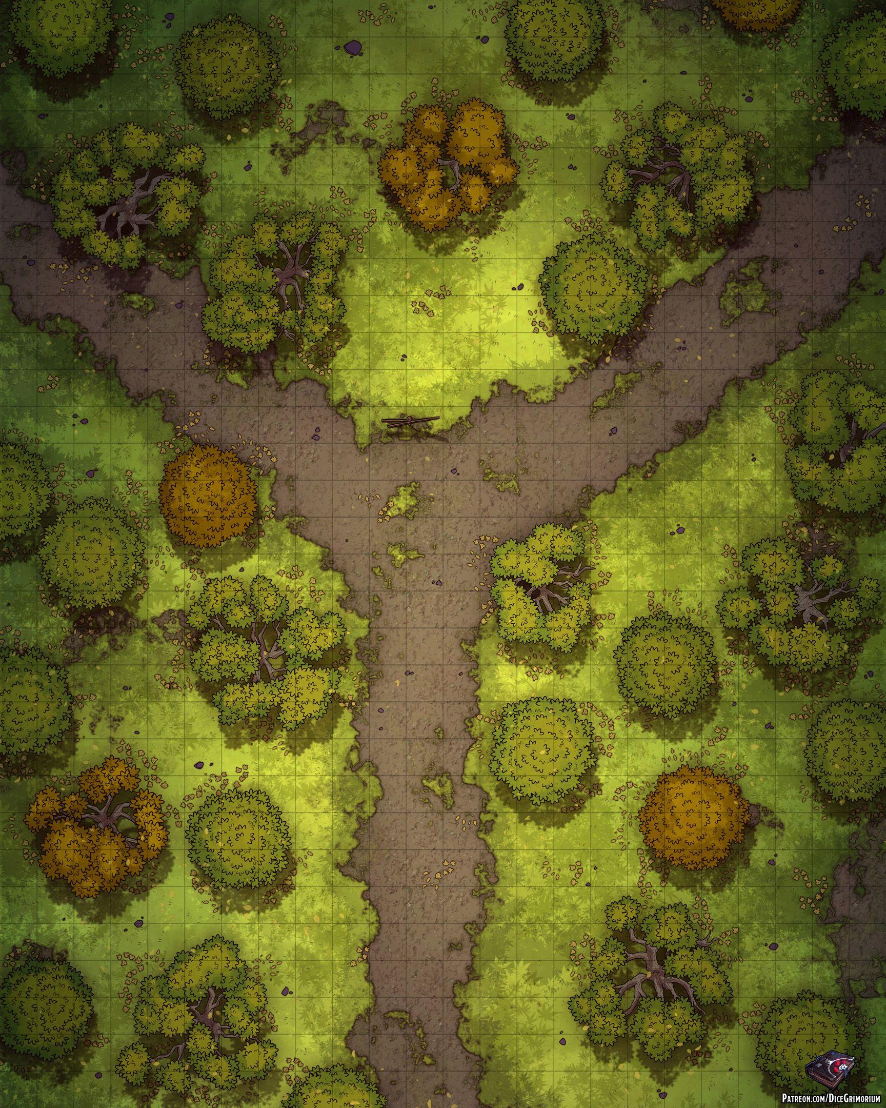 Forest Dnd Map : forest, Imgur:, Magic, Internet, Fantasy, World