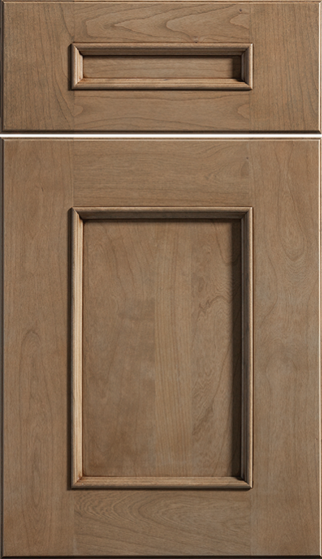 Middleton Cabinetry Cabinet Door Shown in Cherry / Cashew Coffee Glaze Finish & Middleton Cabinetry Cabinet Door Shown in Cherry / Cashew Coffee ...