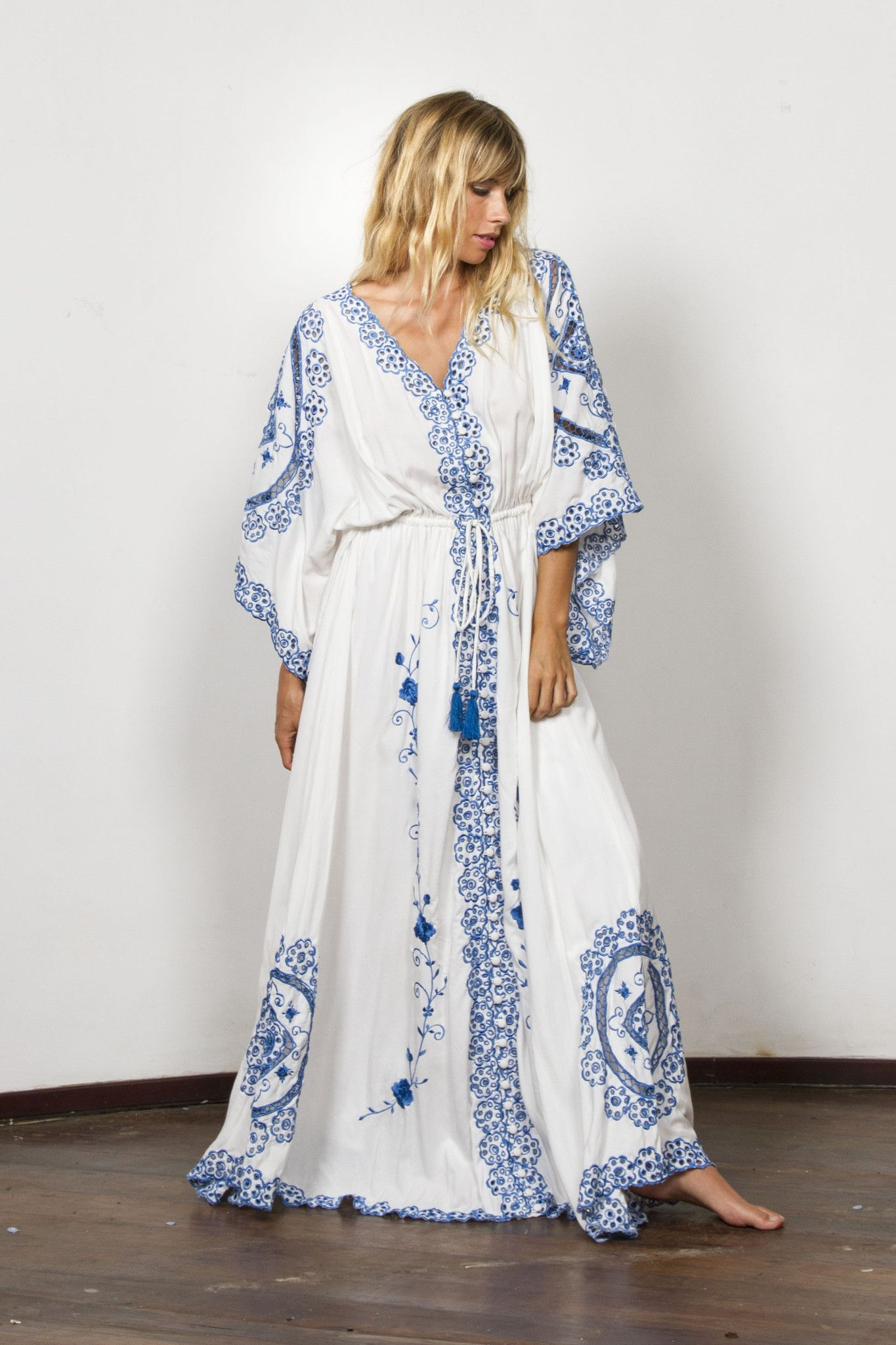 dc5852be71d01 cleo' duster - royal blue in 2019 | Jetsetting Bohemian Gypsy Hippie ...