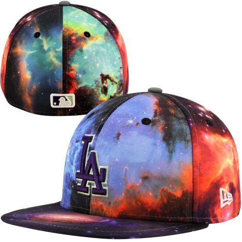a1d86a9ac1856 New Era L.A. Dodgers Galaxy 59FIFTY Fitted Hat – Multi