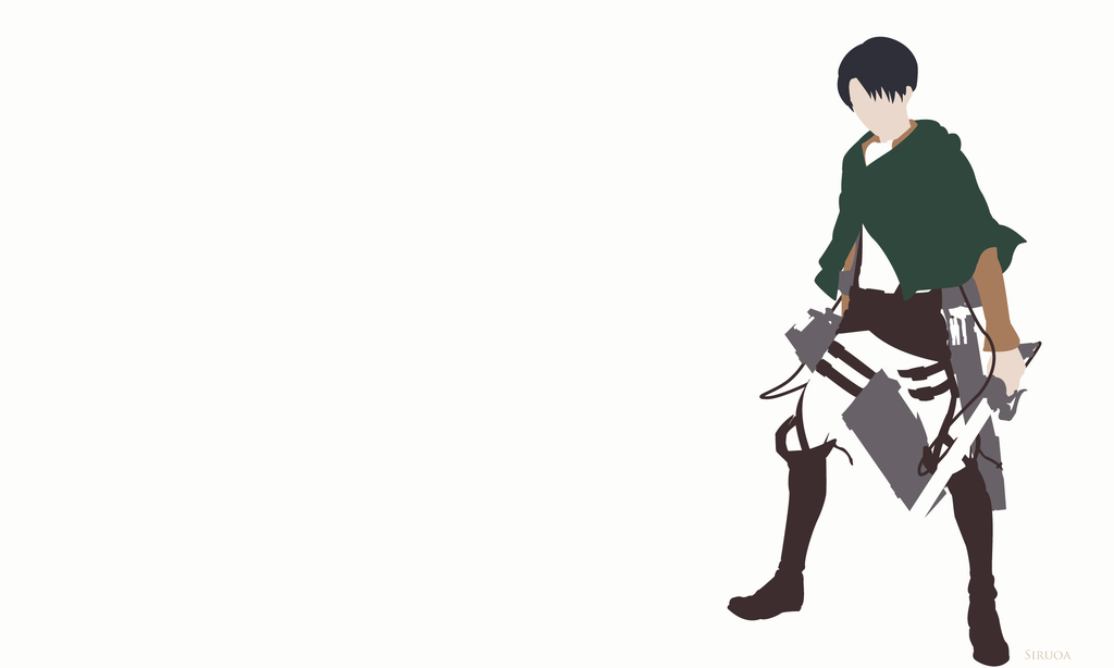 Some Minimalist Snk Posters I Made Using Adobe Illustrator These Have Actually Been My Pc Desktop F Attack On Titan Attack On Titan Levi Attack On Titan Anime