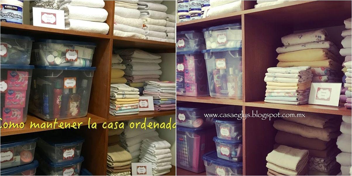 Organizaci n c mo mantener la casa ordenada mix - Trucos para tener la casa ordenada ...