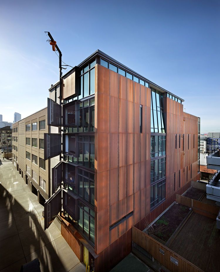 Modern Urban Infill: Tom Kundig's Mixed-use Infill Project In Seattle