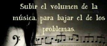 Subir el volumen.....