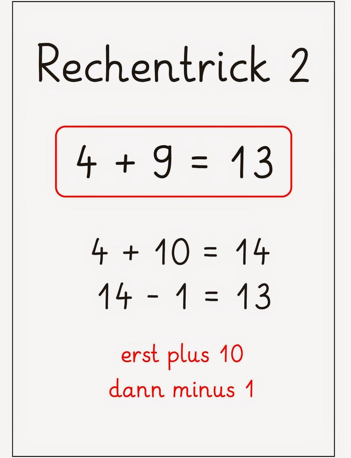 Rechentricks
