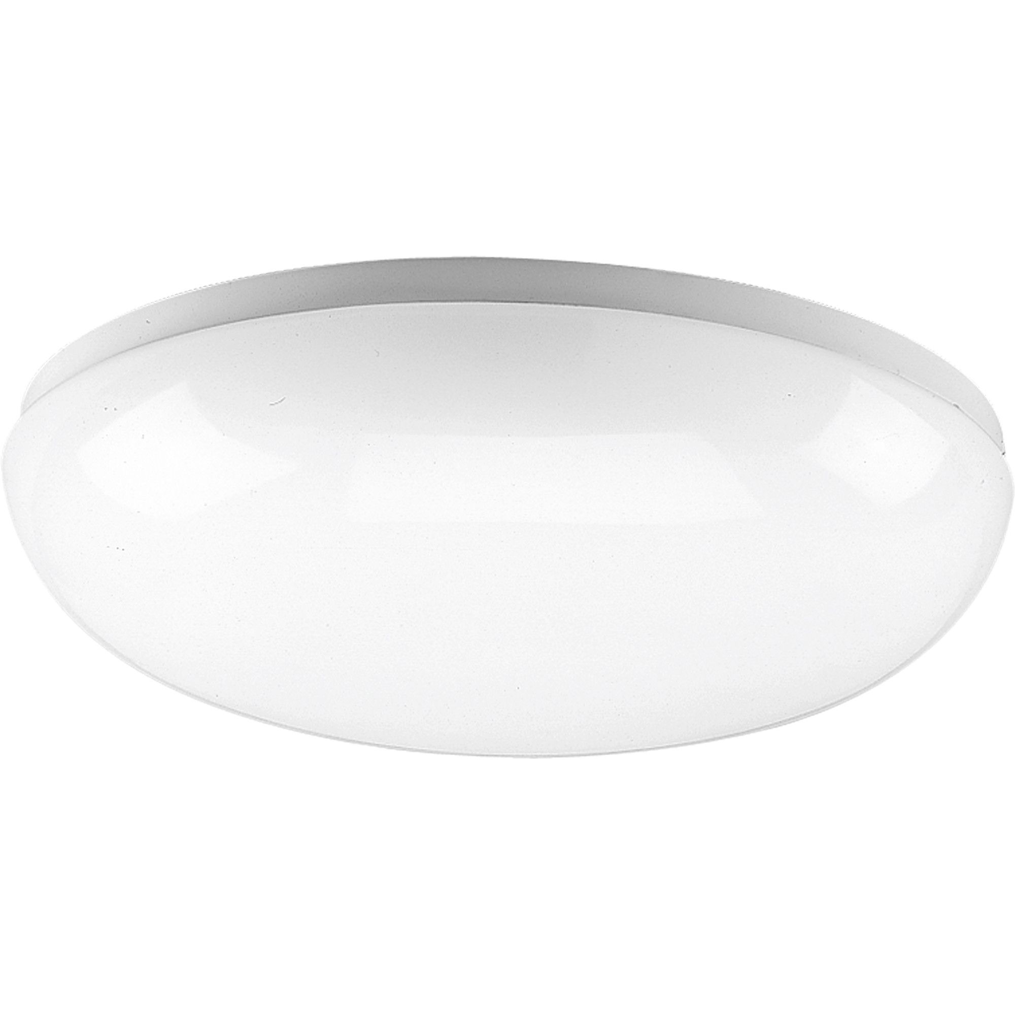 Round White Fluorescent Ceiling Cloud