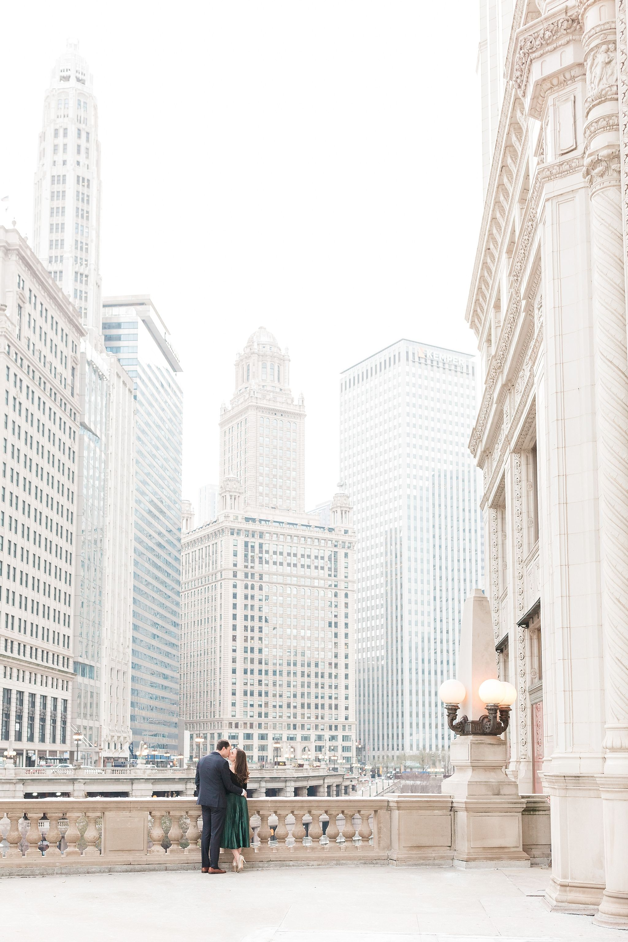 Downtown Chicago Engagement Session Chicago Engagement Photos Fall Chicago Engagement Photos Chicago Engagement