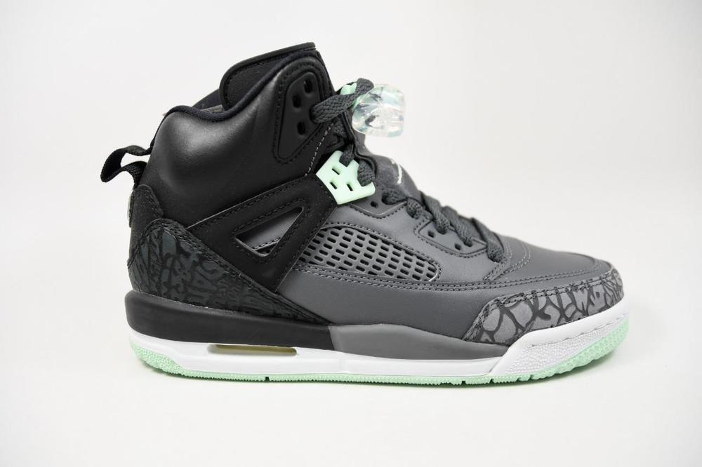 50703e34ed48 eBay  Sponsored Nike Jordan Spizike GG Black Mint Foam Grey lot 535712-015  Grade School Size 4