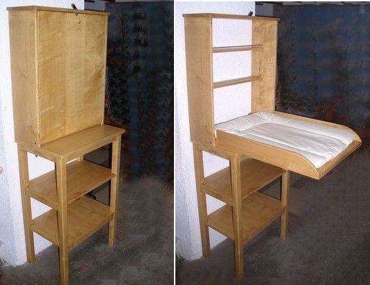 top 25 best table langer murale ideas on pinterest table bebe table langer de b b and. Black Bedroom Furniture Sets. Home Design Ideas